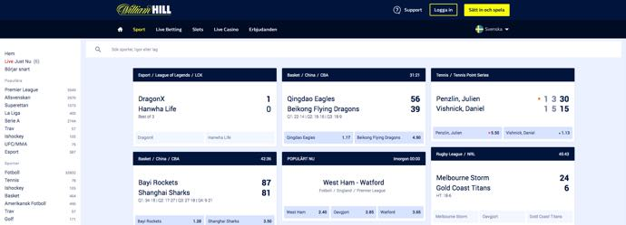 Williamhill - Live Betting